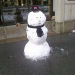 Commuting Snowman