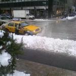 Snow Flinging