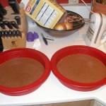 Pour into Pans