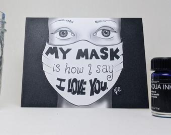How I say I Love You — Greeting Card